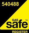 Graphic of Gas Safe logo